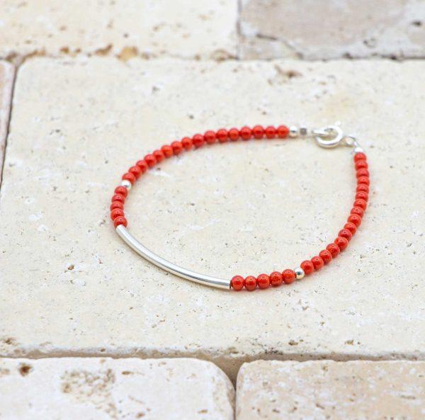 Bracelet L'amour en Barre / Argent