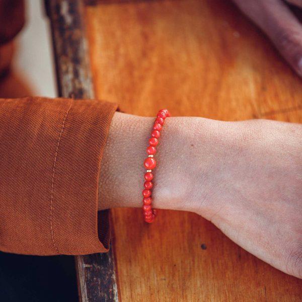 Bracelet perle opulente