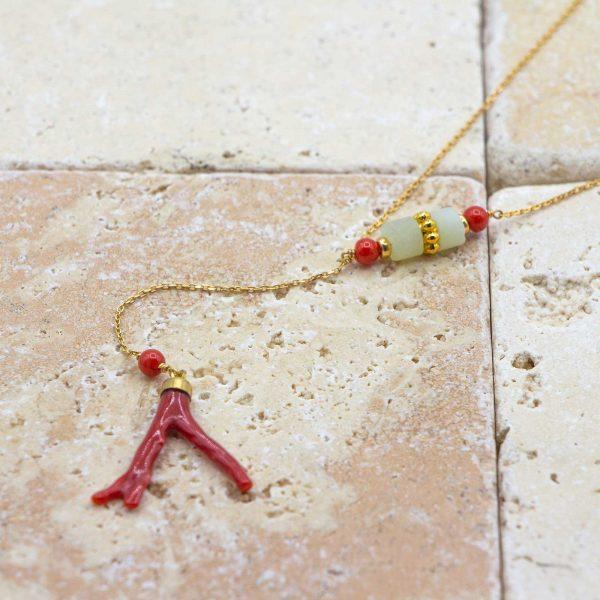 L'asymétrique Branche de Corail & Jade